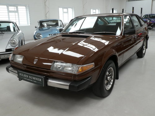 1980 Rover SD1 3500 V8 Rare Manual - Immaculate SOLD (picture 1 of 6)