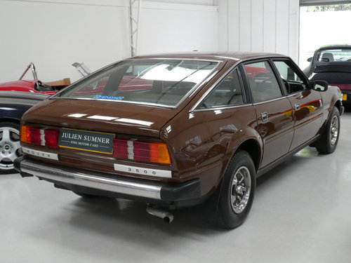 1980 Rover SD1 3500 V8 Rare Manual - Immaculate SOLD (picture 3 of 6)