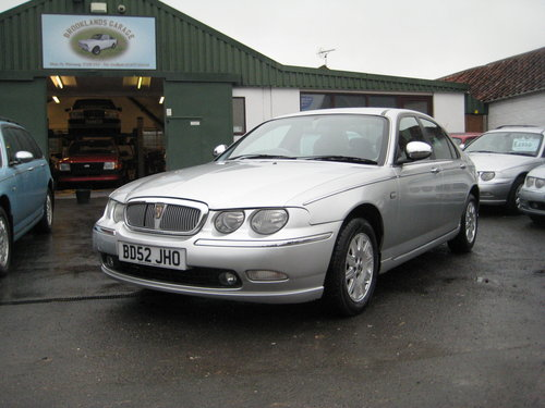 Rover 75 2.5 V6 Connoisseur Auto  2003 ONLY 47,000 MILES For Sale (picture 1 of 6)