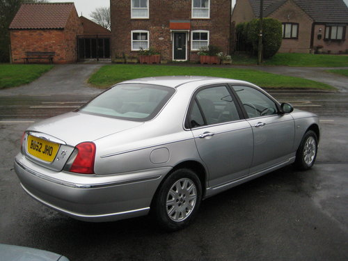 Rover 75 2.5 V6 Connoisseur Auto  2003 ONLY 47,000 MILES For Sale (picture 2 of 6)