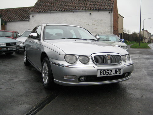 Rover 75 2.5 V6 Connoisseur Auto  2003 ONLY 47,000 MILES For Sale (picture 3 of 6)