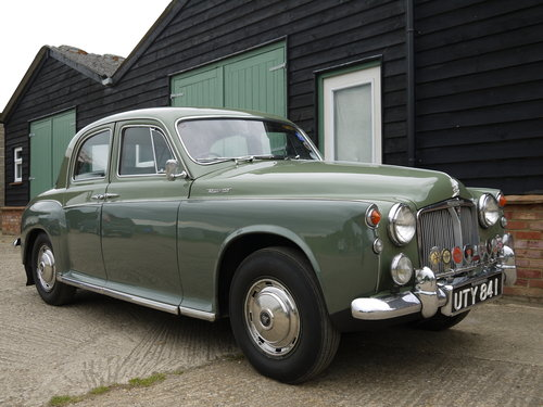 1960 ROVER P4 100 SALOON WITH OVERDRIVE - GREAT VALUE !! SOLD (picture 1 of 6)