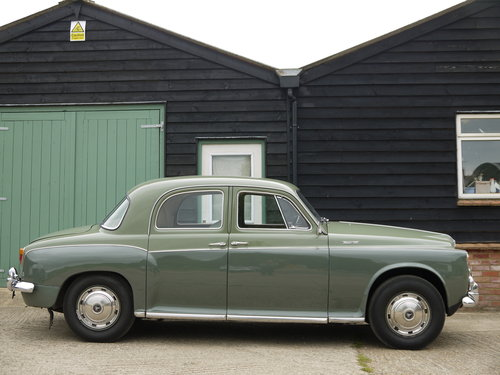 1960 ROVER P4 100 SALOON WITH OVERDRIVE - GREAT VALUE !! SOLD (picture 3 of 6)