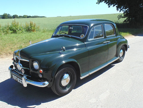 1951 Rover P4 75 Cyclops SOLD (picture 1 of 6)