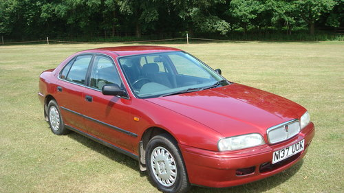 1995 Rover 620Si SOLD (picture 1 of 6)