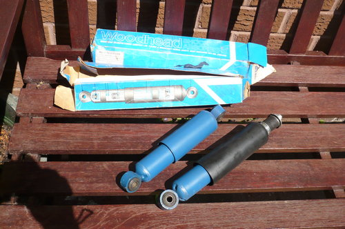 1970 Mini Shock Absorbers. Unused For Sale (picture 1 of 1)