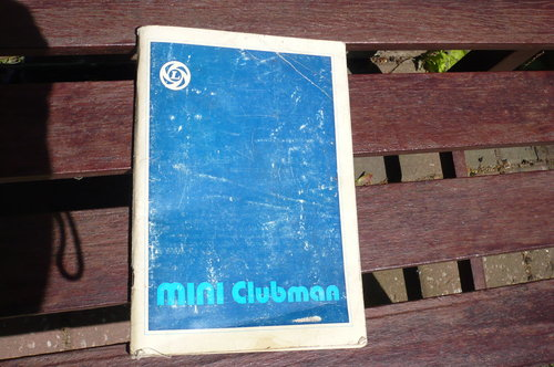 1976 Mini Clubman Owner's Handbook For Sale (picture 1 of 1)