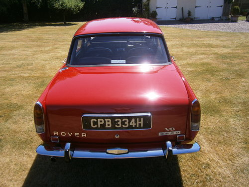 1970 Rover Three Thousand Five P6 V8 For Sale (picture 3 of 6)