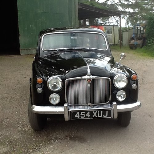 1960 Very nice Rover 90 P 4 SOLD (picture 1 of 6)