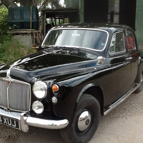 1960 Very nice Rover 90 P 4 SOLD (picture 2 of 6)