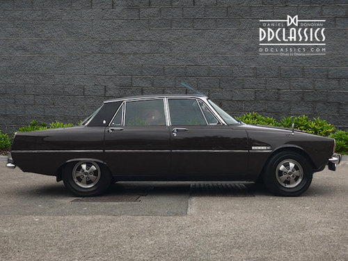 1972 Rover P6 3500 S Manual (RHD) For Sale (picture 2 of 6)
