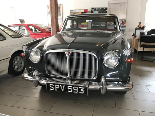1963 Rover P5 3 Litre Saloon For Sale (picture 2 of 6)