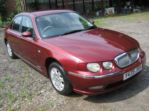 2001 Rover 75 Club CDT Diesel SOLD (picture 1 of 6)