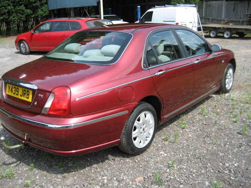 2001 Rover 75 Club CDT Diesel SOLD (picture 2 of 6)
