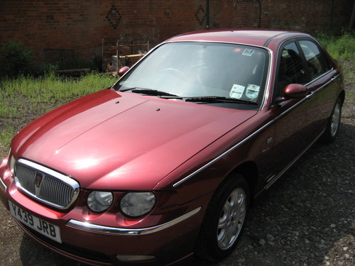 2001 Rover 75 Club CDT Diesel SOLD (picture 4 of 6)