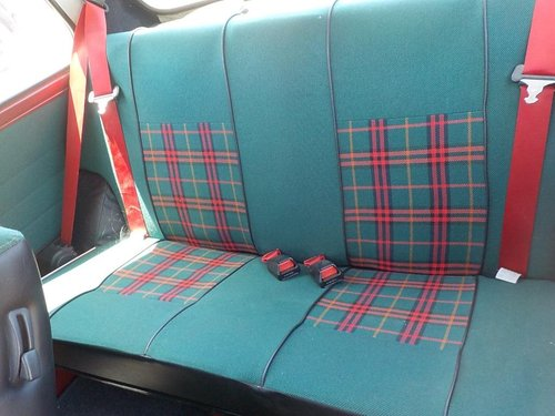 1996 ROVER MINI RARE INVESTABLE CLASSIC MINI TARTAN 1300 MANUAL  For Sale (picture 4 of 5)