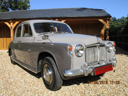 1964 Rover P4 95 (Card Payments Accepted) SOLD (picture 1 of 6)
