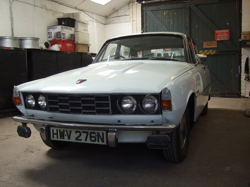 1975 Rover 2200 manual  For Sale (picture 1 of 6)