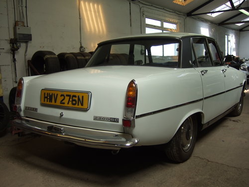 1975 Rover 2200 manual  For Sale (picture 3 of 6)