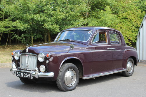 1963 ROVER 110 SALOON - OVERDRIVE  For Sale (picture 1 of 6)