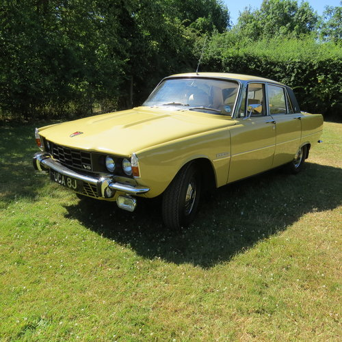 1971 Rover 3500 P6 just 20,106 miles and in outstanding cond For Sale (picture 1 of 6)