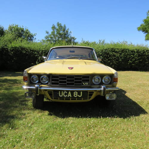 1971 Rover 3500 P6 just 20,106 miles and in outstanding cond For Sale (picture 2 of 6)