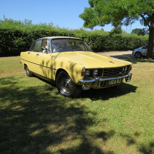 1971 Rover 3500 P6 just 20,106 miles and in outstanding cond For Sale (picture 6 of 6)