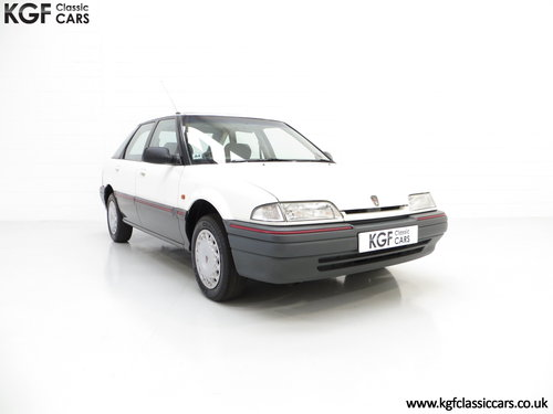 1993 A Nostalgic Rover 214SLi with a Low 37,527 Miles from New SOLD (picture 1 of 6)