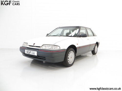 1993 A Nostalgic Rover 214SLi with a Low 37,527 Miles from New SOLD (picture 2 of 6)