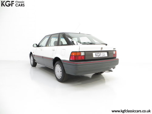1993 A Nostalgic Rover 214SLi with a Low 37,527 Miles from New SOLD (picture 4 of 6)