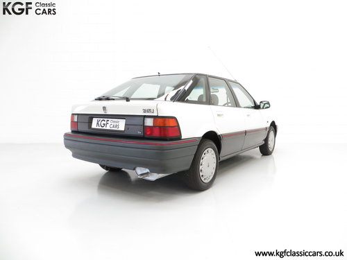 1993 A Nostalgic Rover 214SLi with a Low 37,527 Miles from New SOLD (picture 5 of 6)