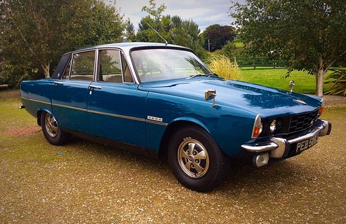 1970 ROVER P6B 3500 V8 AUTO 1 FAMILY OWNED 62000 MILES - POSS PX For Sale (picture 1 of 6)