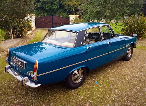 1970 ROVER P6B 3500 V8 AUTO 1 FAMILY OWNED 62000 MILES - POSS PX For Sale (picture 2 of 6)