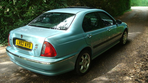 2002 Rover 45 2.0 V6 Connoisseur Saloon For Sale (picture 3 of 6)