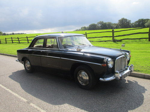1966 Rover P5 3 Litre Auto Saloon SOLD (picture 1 of 6)