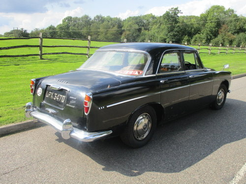 1966 Rover P5 3 Litre Auto Saloon SOLD (picture 3 of 6)