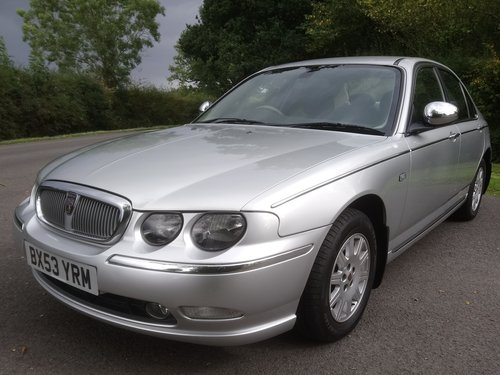 2003 Rover 75 Connoisseur SE Auto SOLD (picture 1 of 6)