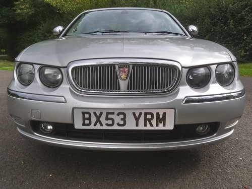 2003 Rover 75 Connoisseur SE Auto SOLD (picture 2 of 6)
