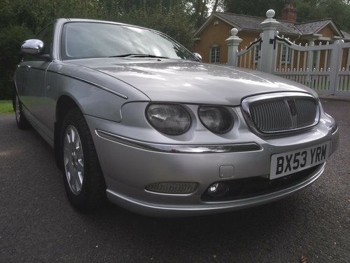 2003 Rover 75 Connoisseur SE Auto SOLD (picture 3 of 6)