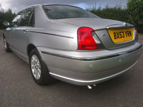 2003 Rover 75 Connoisseur SE Auto SOLD (picture 5 of 6)