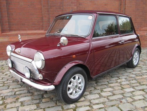 2000 ROVER MINI RARE COOPER CLASSIC MINI 40TH ANNIVERSARY EDITION For Sale (picture 1 of 6)