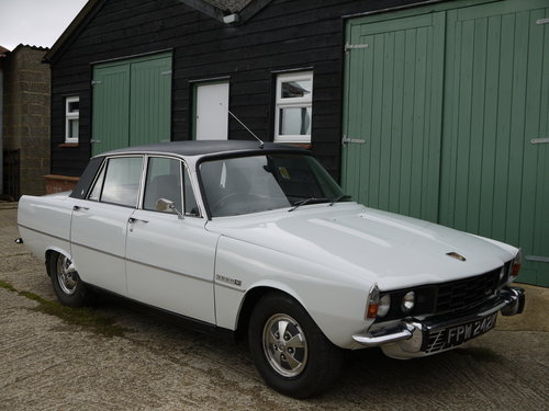 1972 ROVER P6 V8 3500S MANUAL  - 77K MILES FROM NEW !! SOLD (picture 1 of 6)