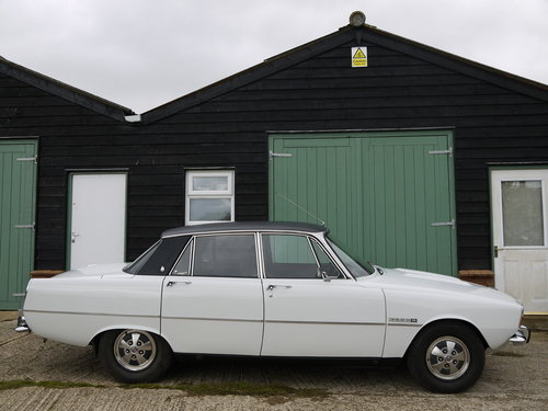 1972 ROVER P6 V8 3500S MANUAL  - 77K MILES FROM NEW !! SOLD (picture 2 of 6)