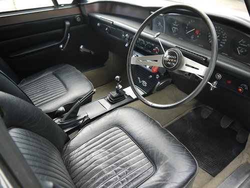 1972 ROVER P6 V8 3500S MANUAL  - 77K MILES FROM NEW !! SOLD (picture 4 of 6)