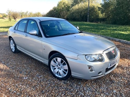 2005 ROVER 75 2.5 V6 CONTEMPORARY SE AUTOMATIC SALOON For Sale (picture 4 of 6)