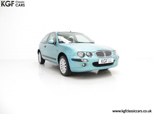 2004 A Time Warp Rover 25 Impression S 16v with 9,352 Miles SOLD (picture 1 of 6)