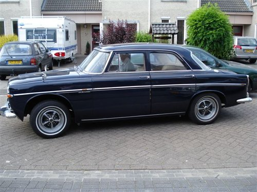 1972 Rover P5B Saloon Admiralty Blue For Sale (picture 1 of 5)
