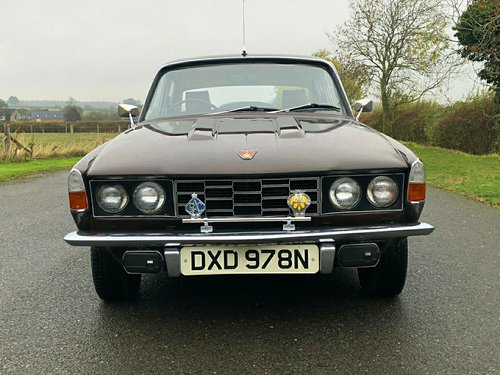1974 Rover P6 2200 SC SOLD (picture 2 of 6)