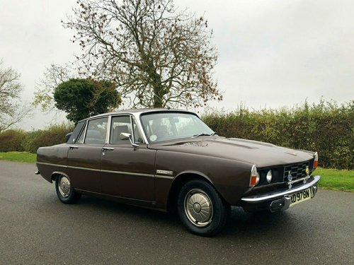 1974 Rover P6 2200 SC SOLD (picture 3 of 6)