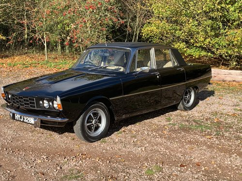 1975 Rover P6 2200 SC SOLD (picture 1 of 6)